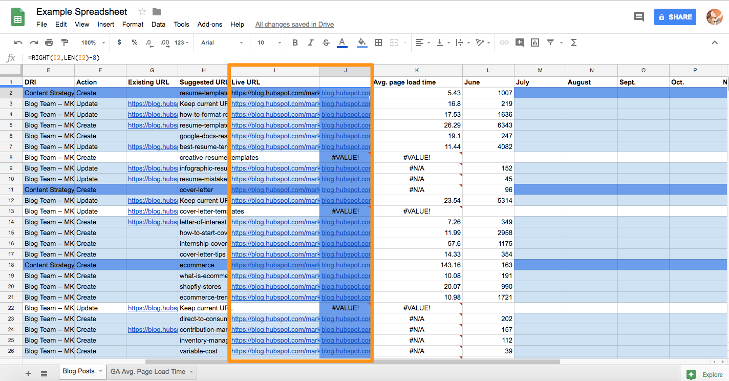 The 7 Most Useful Google Sheets Formulas