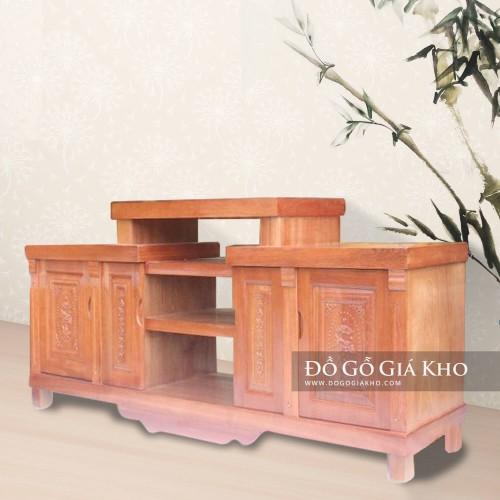 Kệ tivi gỗ Xoan Đào 1m8 - TV023-8