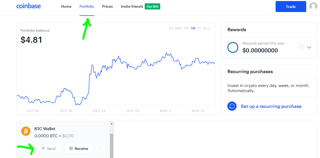 how to buy HEDG tokens using a Coinbase bitcoin transfer