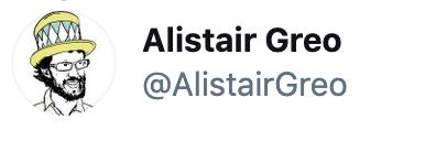 Alistair's Twitter Header