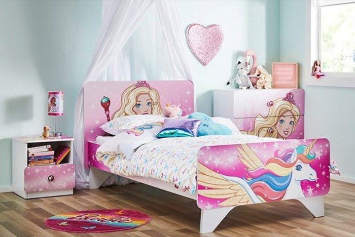 Sweet Barbie Girl Bedroom Decoration Ideas
