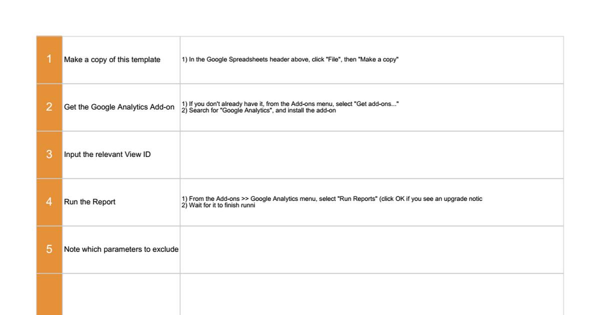 Google Analytics Exclude URL Query Parameters Worksheet Google – Orm Worksheet