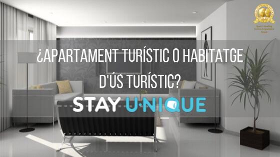 Apartment turístico o habitante d'us turístico