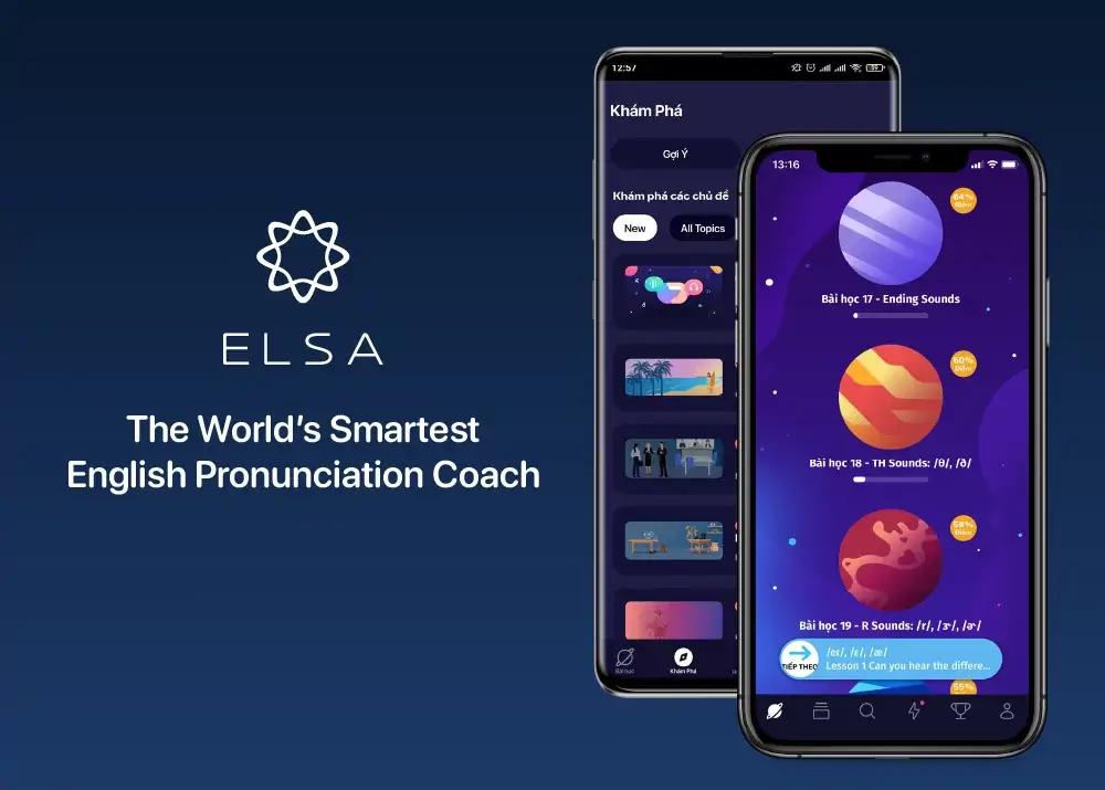ELSA Speak - ứng dụng luyện phát âm chuẩn chỉnh như người bản ngữ