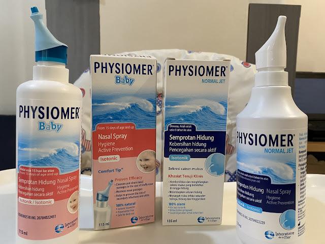cuci hidung physiomer