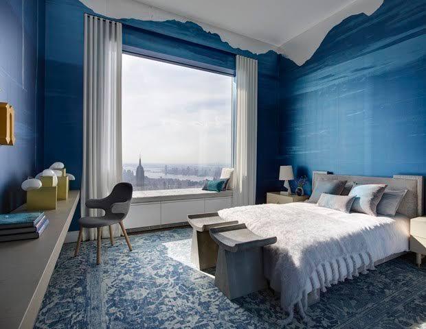 tendências de decoração 2020 cor pantone azul joinville