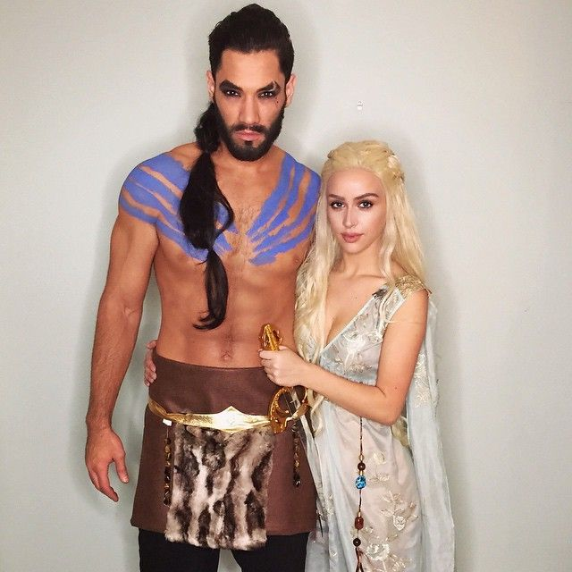 Image result for daenerys and khal drogo costume  sc 1 st  Her C&us & 6 Duo Costume Ideas | Her Campus