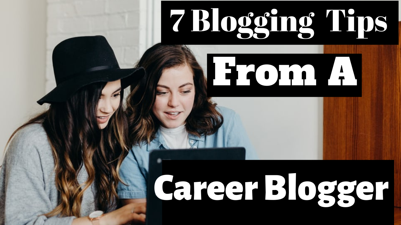 create a captive youtube thumbnail using canva | 7 blogging tips from a career blogger example
