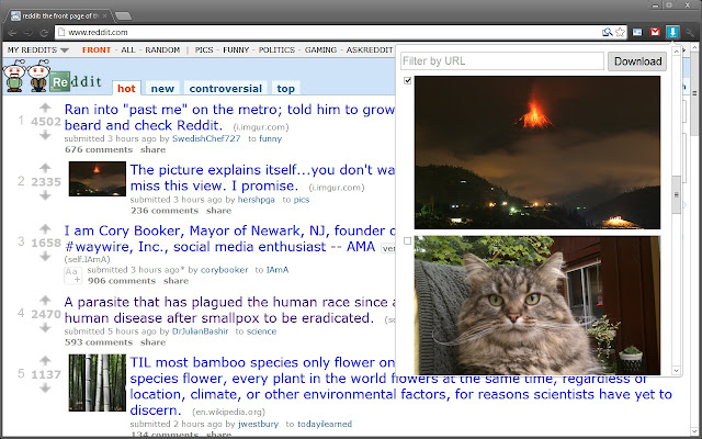 ePlusGo - ekstensi Image Downloader untuk mendownload gambar secara massal