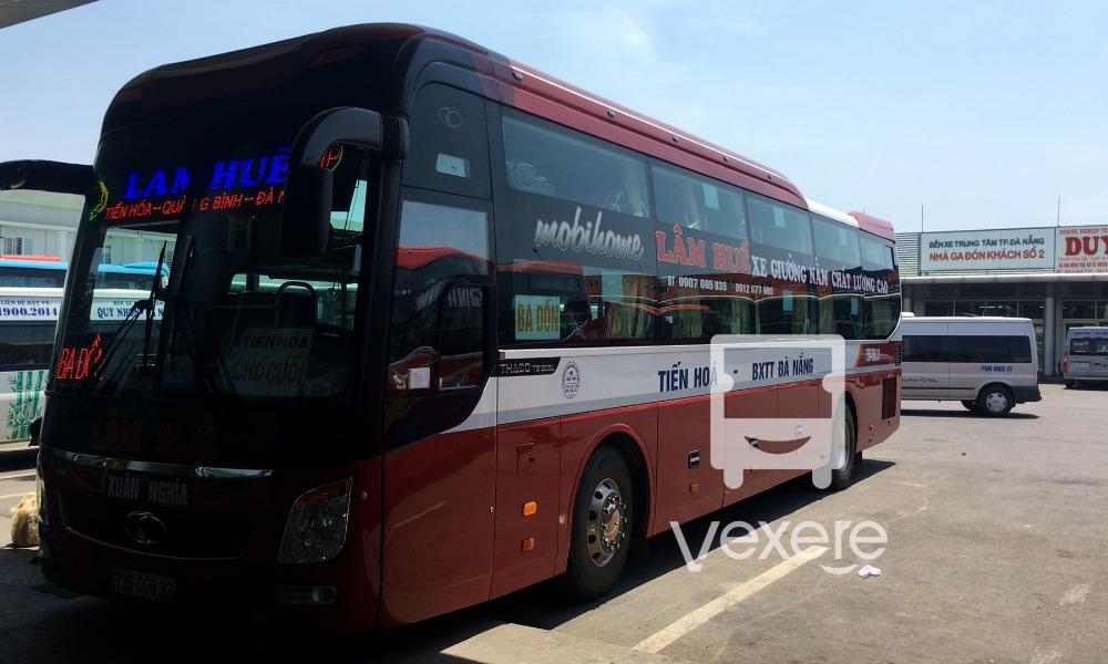 Xe Lâm Huề từ Đà Nẵng đi Quảng Bình