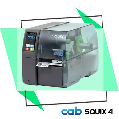 """Máy in mã vạch Cab SQUIX 4 - """"siêu sao"""" in tem nhãn hiệu suất cao, chất lượng in vượt trội hơn hẳn những sản phẩm có cùng độ phân giải, độ bền cao, xuất xứ chính hãng 100% từ Đức"""