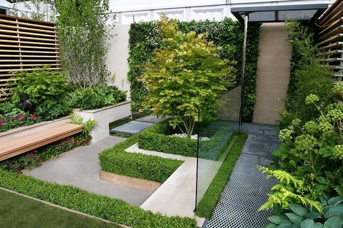 Thiết kế vườn biệt thự với càng ít chi tiết rườm rà càng tốt