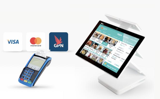 Fitur e-wallet majoo sudah terintegrasi dengan EDC BCA