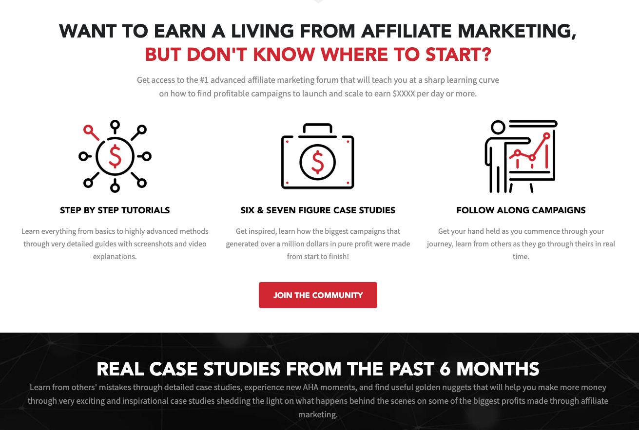 affiliate marketing forum iamaffiliate, featuring resources for new affiliate marketers