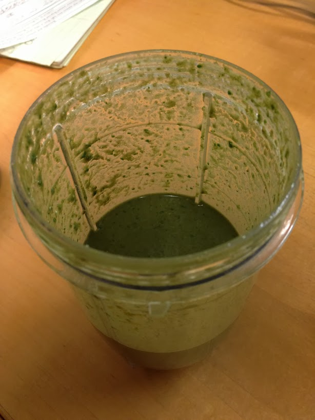Smoothie using RawJuvenate Organic Super Greens
