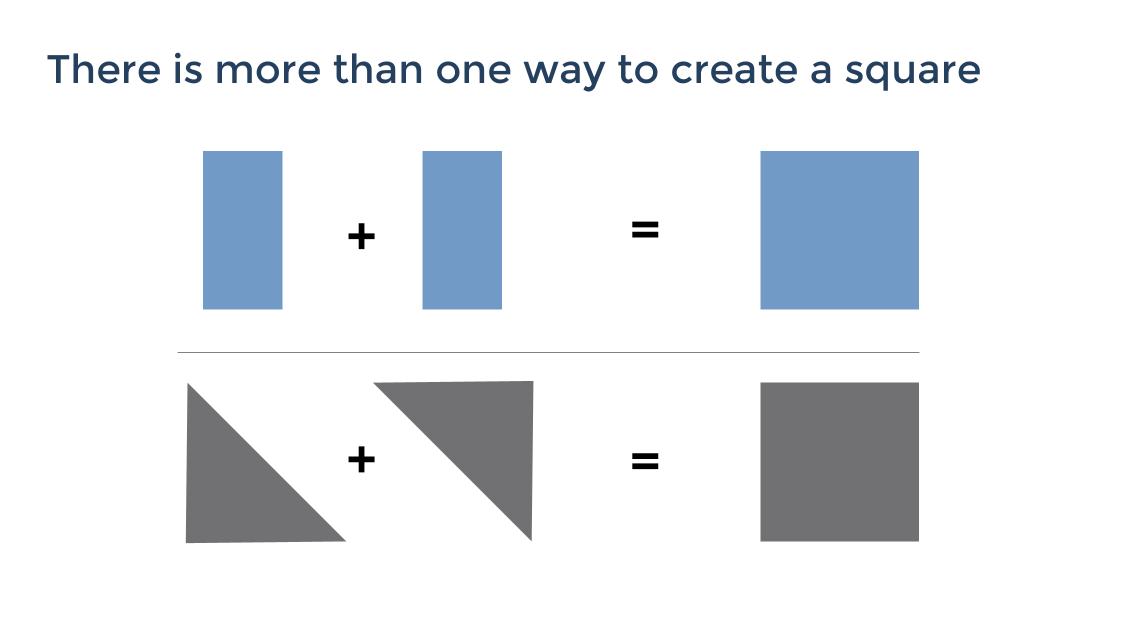Simple persuasive slide