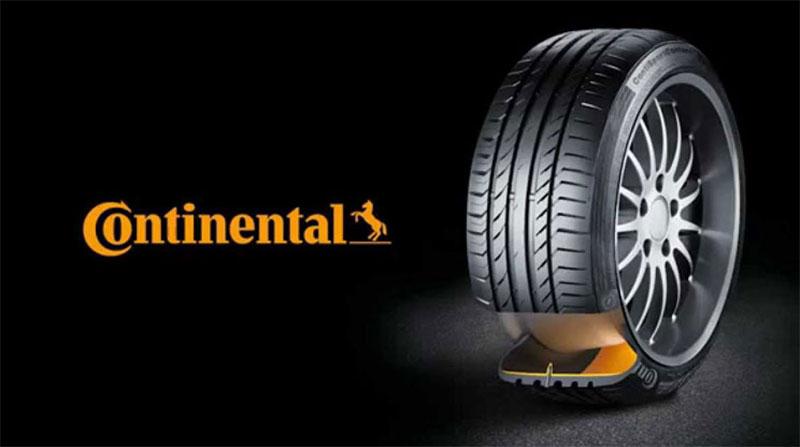 Continental - hãng lốp xe ô tô hàng đầu đến từ Đức