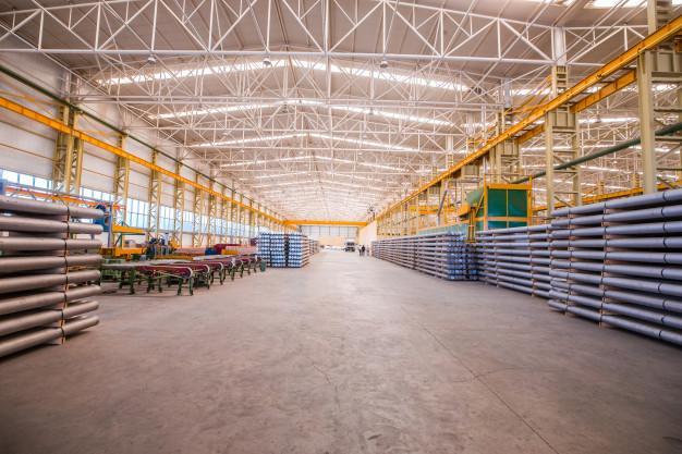 Almacén donde se debe llevar a cabo la Seguridad industrial en la planta