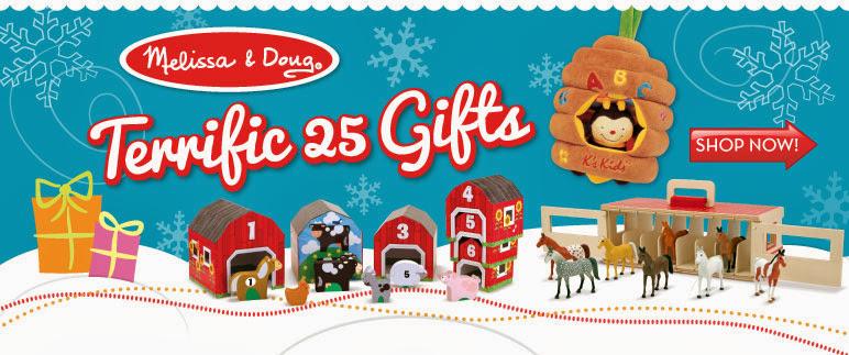Melissa & Doug Terrific 25 Gifts