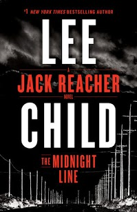 Release Date - 11/7/2017  Jack Reacher takes an aimless stroll past a pawn shop in a small Midwestern town. In the window he sees a West Point class ring from 2005. It's tiny. It's a woman cadet's graduation present to herself. Why would she give it up? Reacher's a West Pointer too, and he knows what she went through to get it.  Reacher tracks the ring back to its owner, step by step, down a criminal trail leading west. Like Big Foot come out of the forest, he arrives in the deserted wilds of Wyoming. All he wants is to find the woman. If she's OK, he'll walk away. If she's not … he'll stop at nothing.  He's still shaken by the recent horrors of Make Me, and now The Midnight Line sees him set on a raw and elemental quest for simple justice. Best advice: don't get in his way.