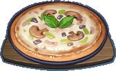 Pizza nấm rơm nướng