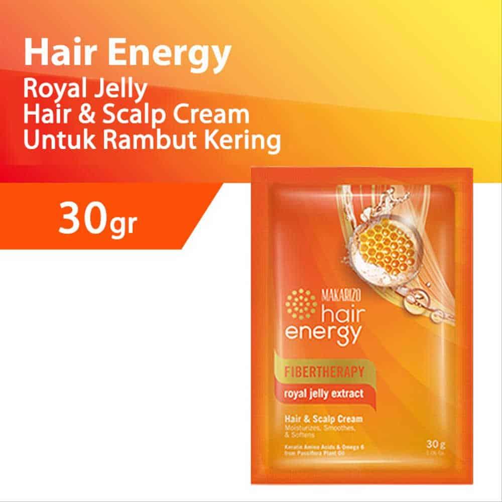 Makarizo Fibertherapy Hair & Scalp Cream with Royal Jelly Extract