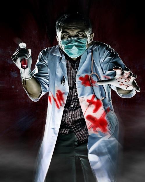 Iatrophobia (fear of doctors) | Joash Maramara | Flickr