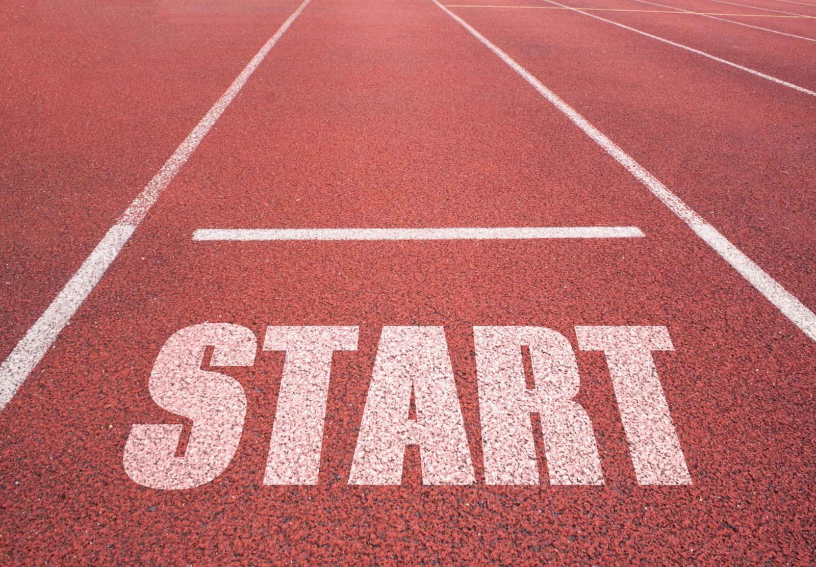 real estate investing for beginners: starting spot on track and field