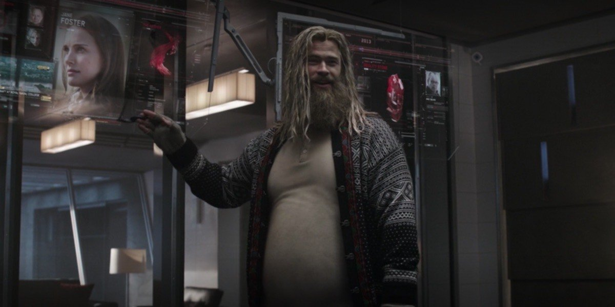 Obese Marvel Characters - Thor
