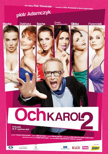 Polski plakat filmu 'Och, Karol 2'