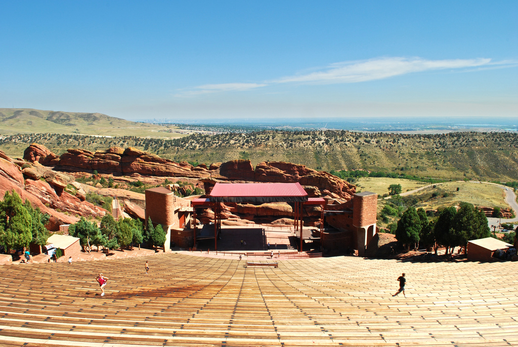 ... Red Rocks Amphitheatre ...