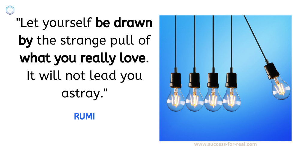 365 Success Quotes For Motivation - Picture Quote By RUMI