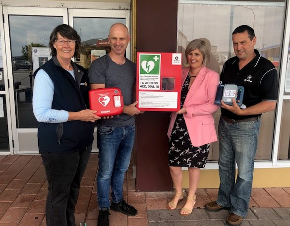 The Make Greymouth the Safest community in New Zealand to have a Heart Attack Project