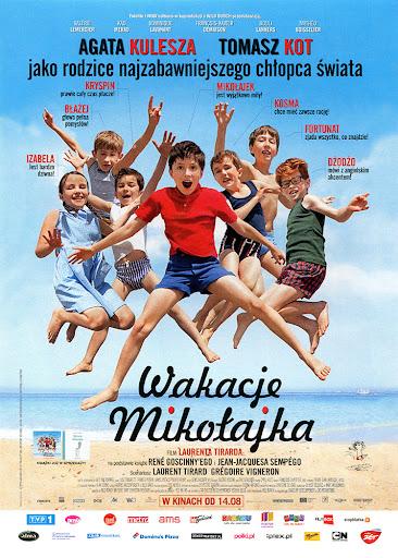 Przód ulotki filmu 'Wakacje Mikołajka'