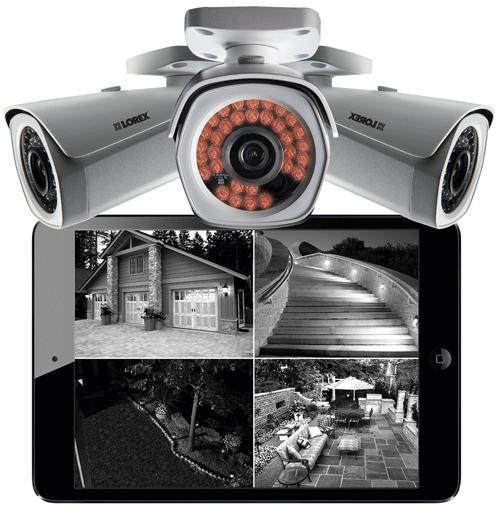 HD night vision bullet IP cameras