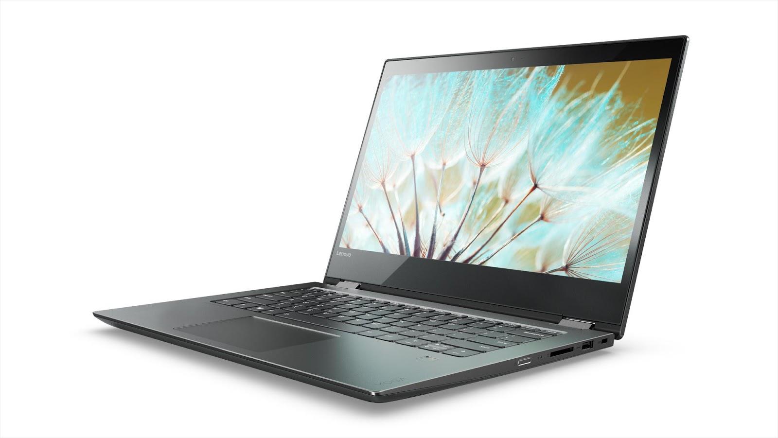 Фото1  Ноутбук Lenovo Yoga 520 (81C800DFRA) Onyx Black