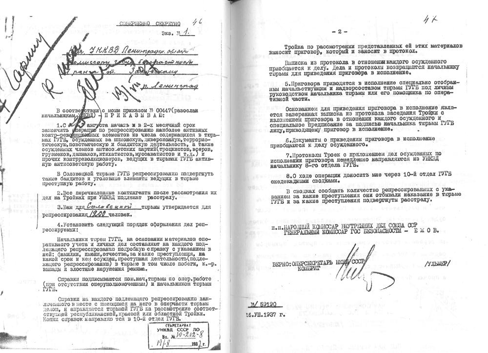 Ленинградский мартиролог. Т. 2. СПб., 1996. Ил. 78–79