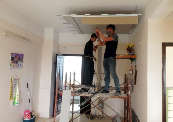 quy trình sửa chữa nhà đơn giản, nhanh chóng