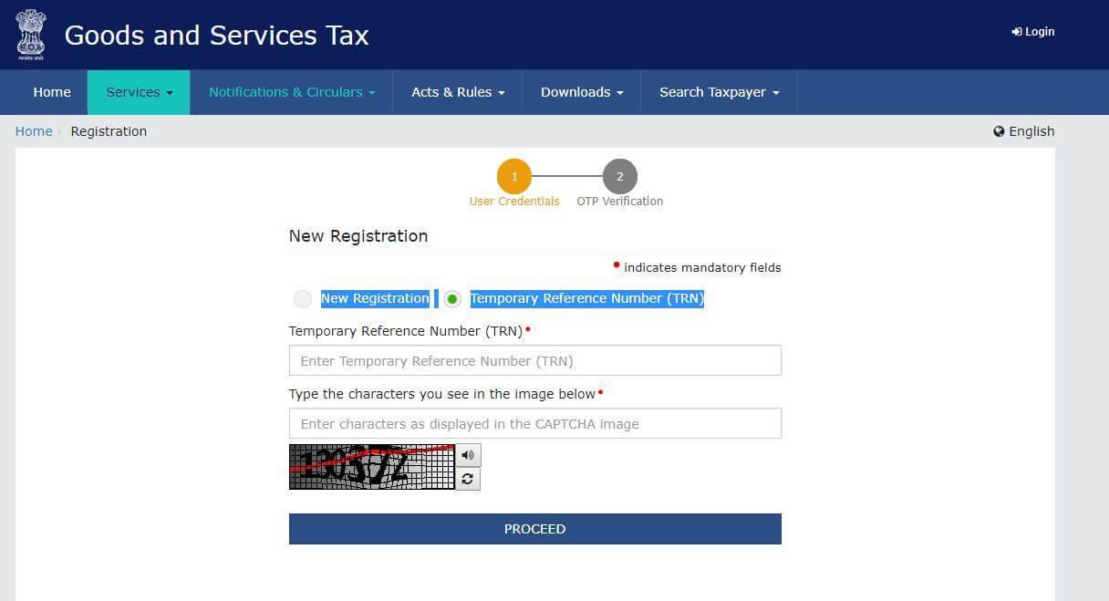 GST registration steps - 6