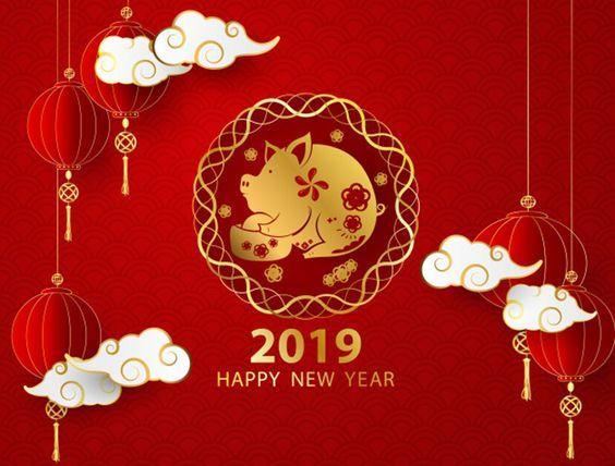 Tuyển tập bộ hình ảnh, hình nền chúc tết và mừng năm mới (happy new year) 2019 số 12