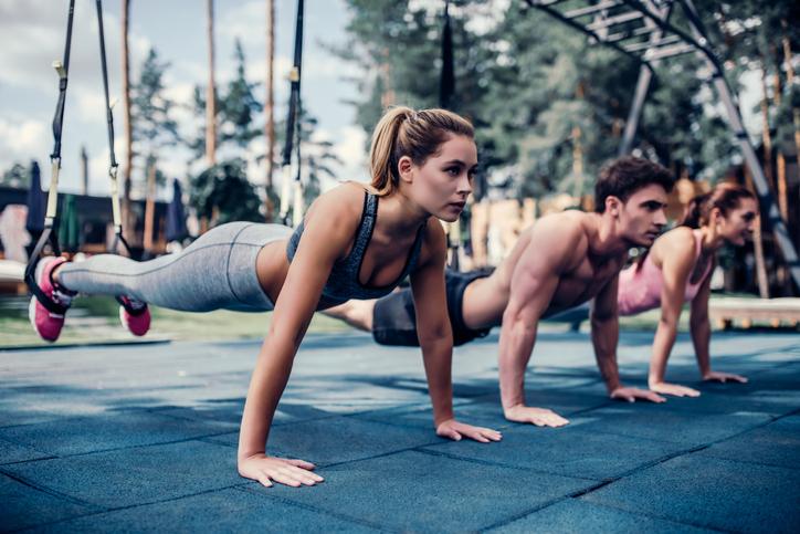 Portable Gym with TRX Straps