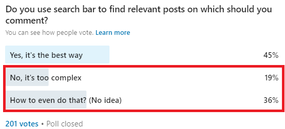 how to do linkedin search