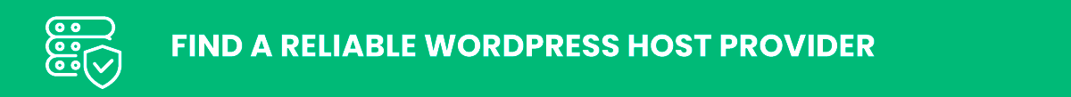 wordpress security: Find a Reliable WordPress Host Provider