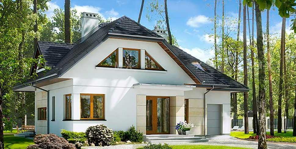 Как построить красивый дом по выгодной цене
