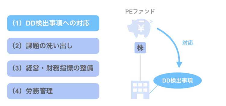 (1)DD検出事項への対応