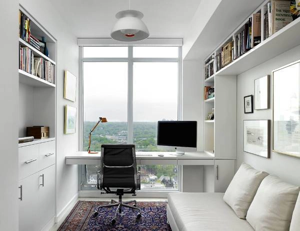 Thiết kế nội thất văn phòng tại nhà