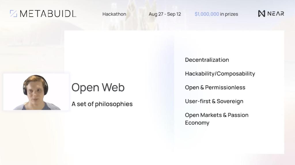 Illia Polosukhin giới thiệu về Web mở