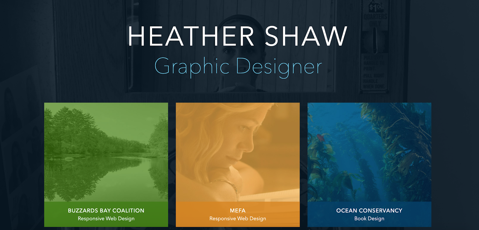 Web Developer Portfolio of Heather Shaw