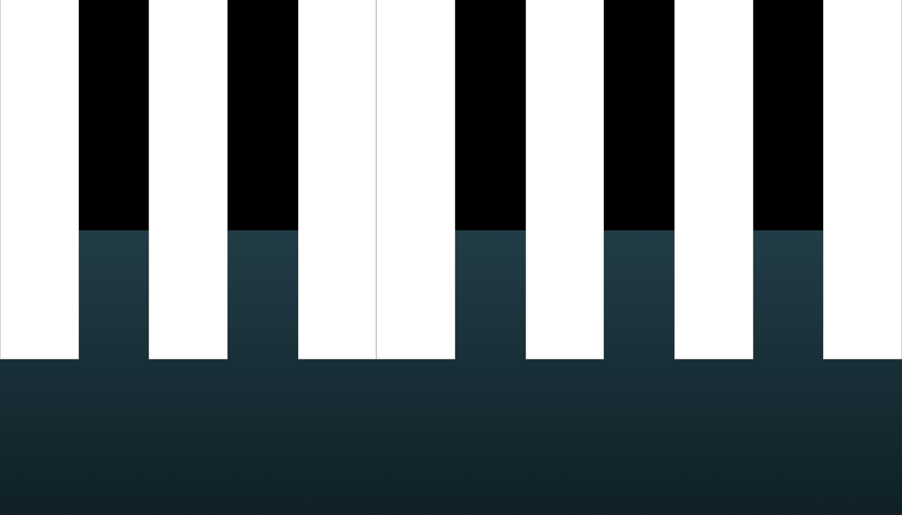 create piano app with javascript