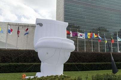 Image result for toilets in the UN